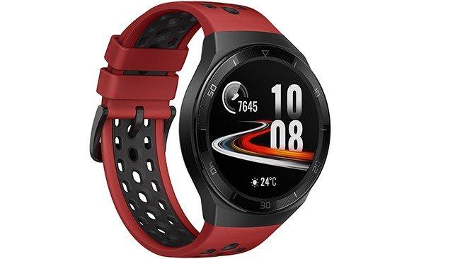 Huawei Watch GT2e em vermelho