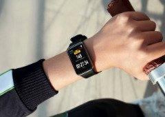 Huawei Watch Fit: smartwatch para desporto com desconto de 50 €