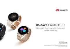 Huawei Watch GT 3 chegou para destronar o Apple Watch