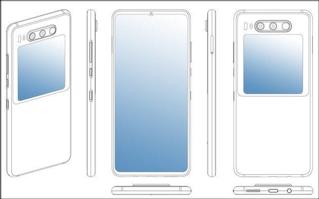 Huawei Mate 30 Pro patente ecrã