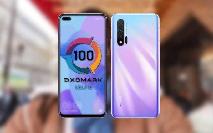 Huawei Nova 6 5G DxOMark