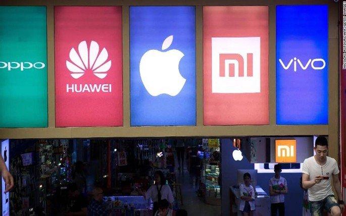 OPPO Huawei Xiaomi Apple China