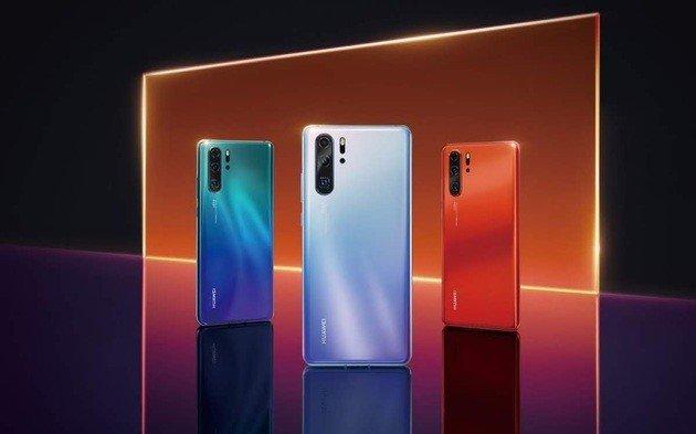 Apresentação oficial do Huawei P30