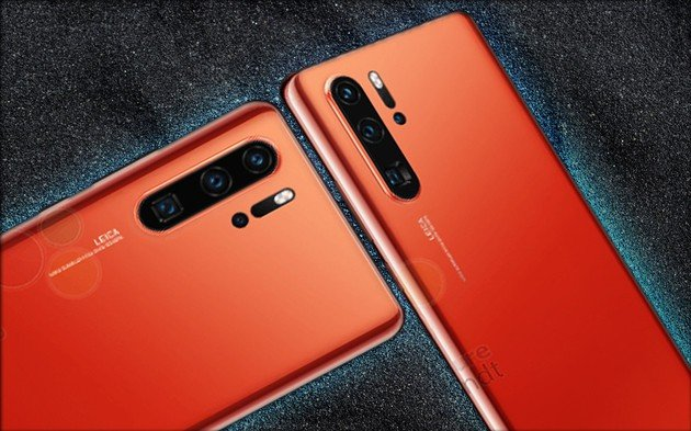 Huawei P30 Pro cor-de-laranja