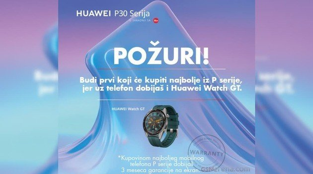 Huawei P30 Watch GT Active