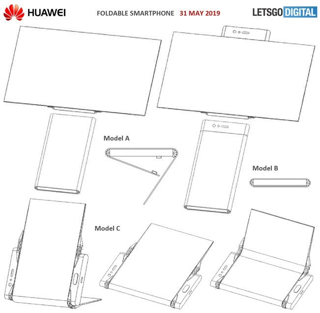 Huawei Smartphone Dobrável Patente