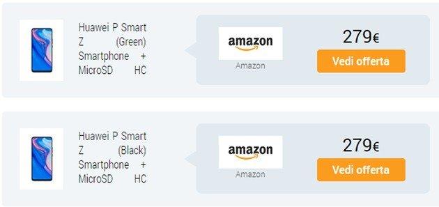 Huawei P Smart Z Amazon