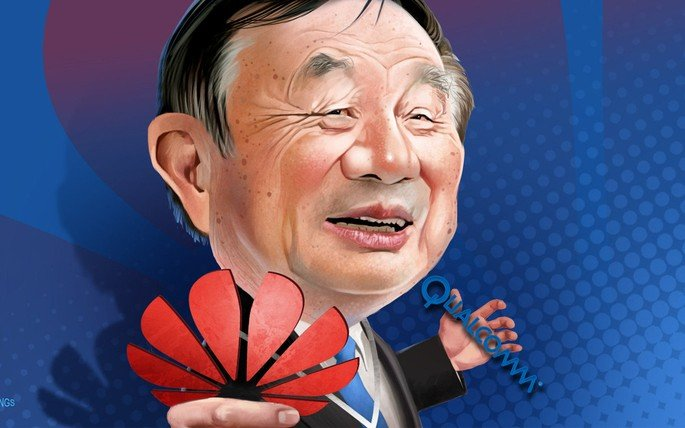 Huawei Qualcomm CEO