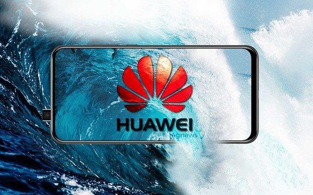 Huawei Y9 2019 pop-up