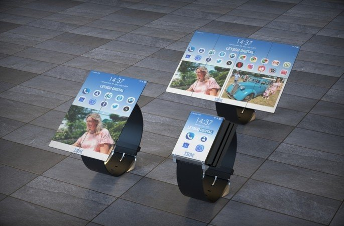 ibm smartwatch patent