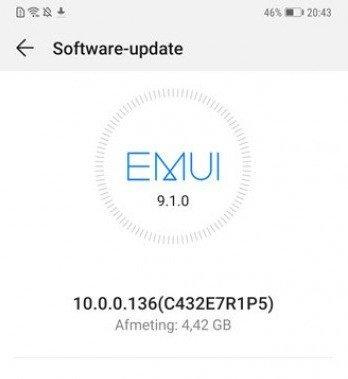 Huawei Mate 20 Pro Android 10 atualização