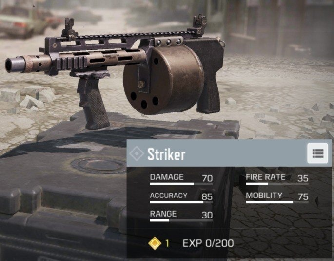 CoD Mobile Striker