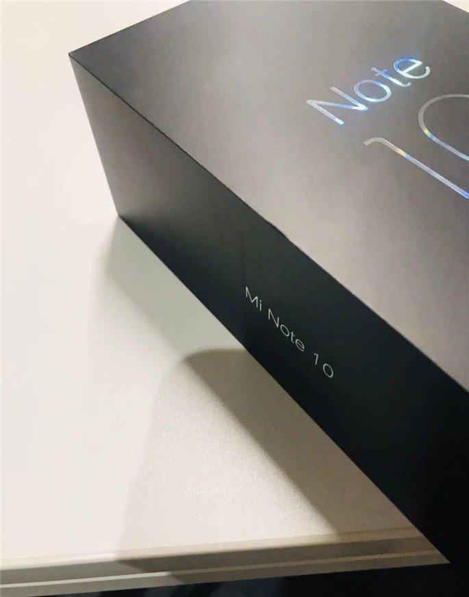 Xiaomi Mi Note 10 caixa de retalho
