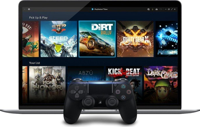 PlayStation 5 PS Now streaming