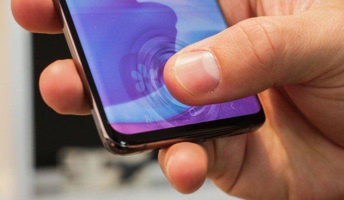 Samsung Galaxy S10 falha de segurança