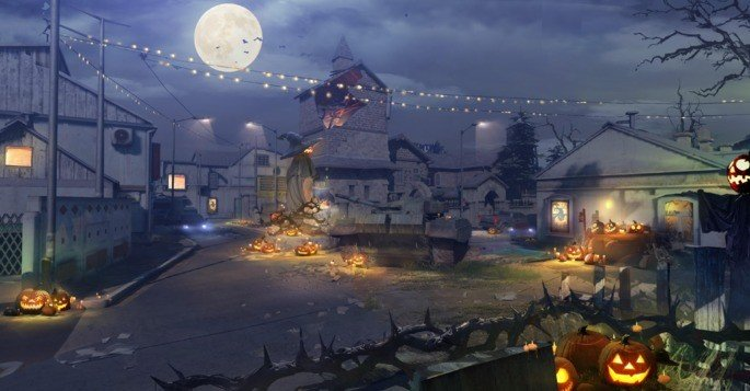 Mapa Halloween Call of Duty Mobile