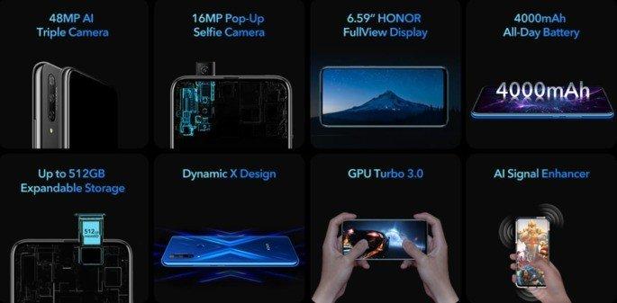 Honor 9X specs