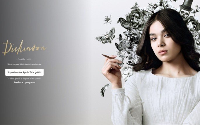 Dickinson Apple TV+ Portugal