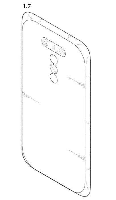LG smartphone penta câmara