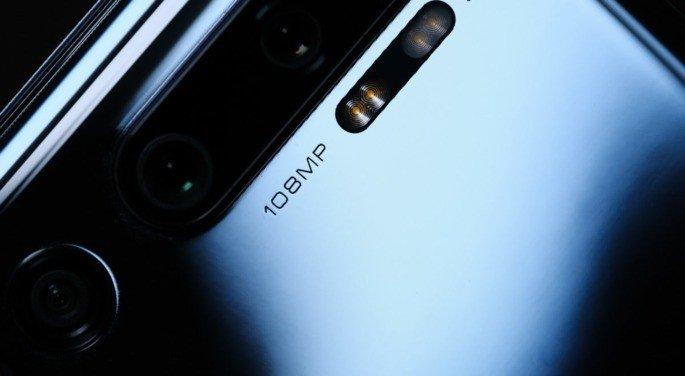 Xiaomi Mi Note 10 câmara
