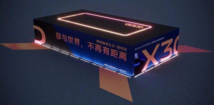 Vivo X30 smartphone