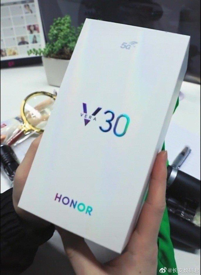 caixa do Honor V30