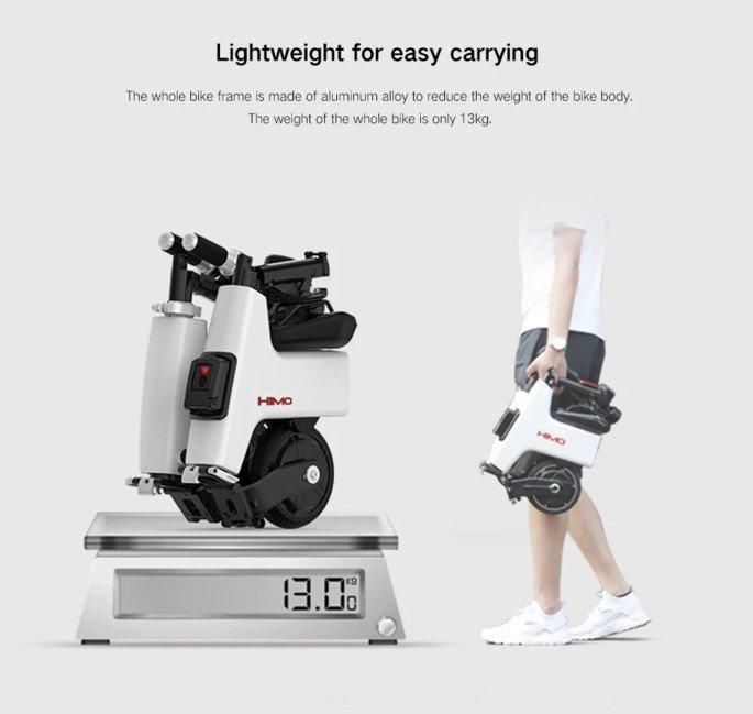 Xiaomi Himo H1 bicicleta elétrica