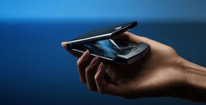 Motorola Razr dobrável