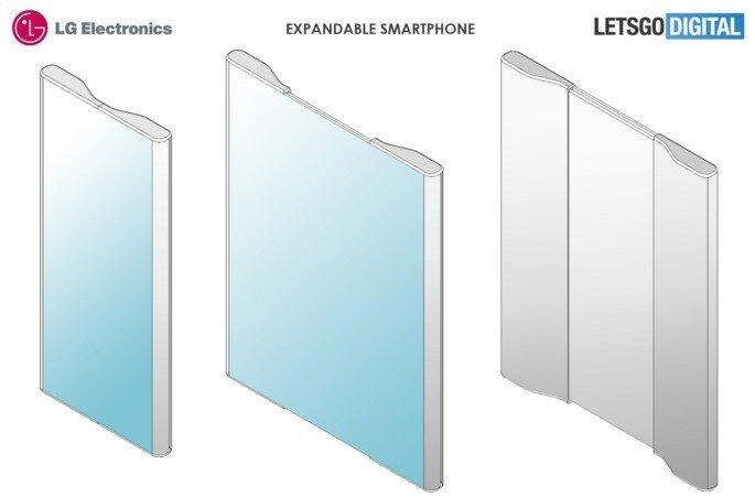 LG smartphone patente