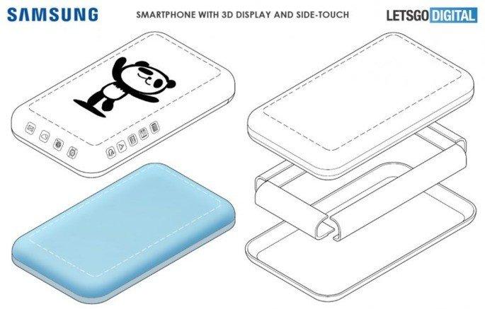 Samsung Patente ecrã 3D