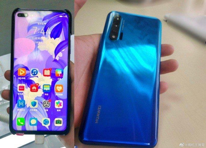 Huawei Nova 6 leak