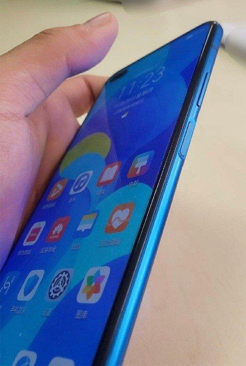 Huawei Nova 6 leitor de impressão digital