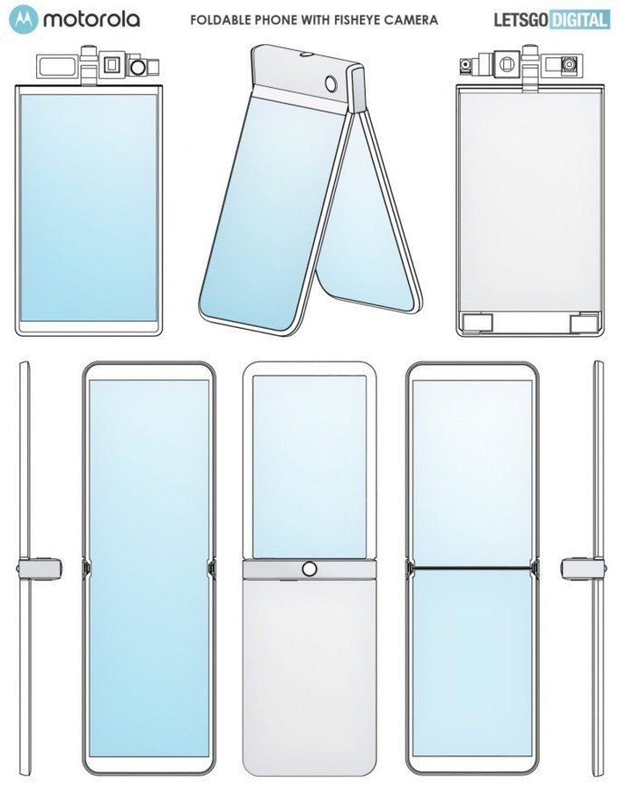 Motorola Razr 2020 patente