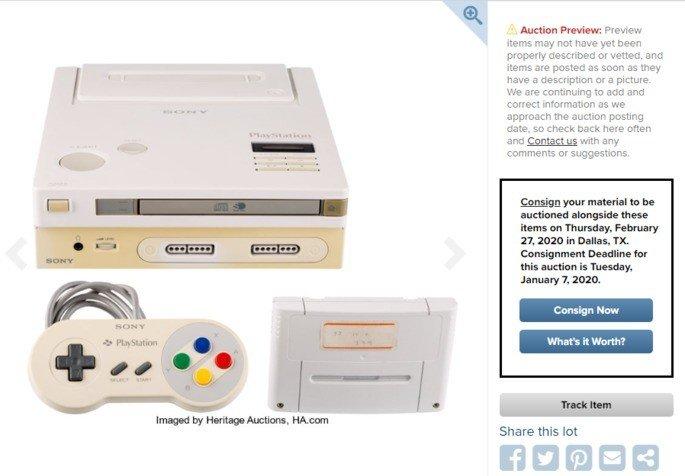 Nintendo PlayStation consola