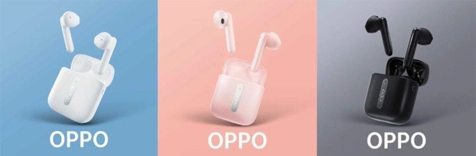 Oppo Enco Free earbuds