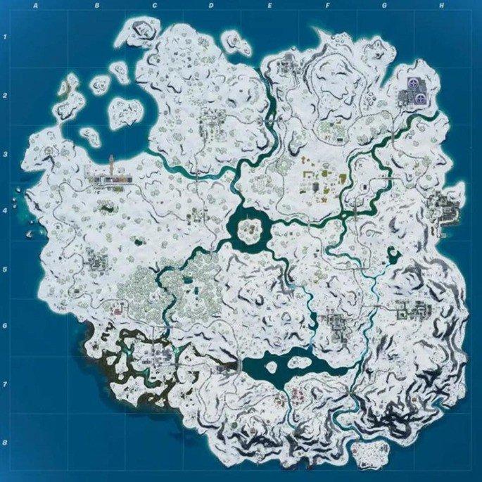 Mapa Fortnite Nete
