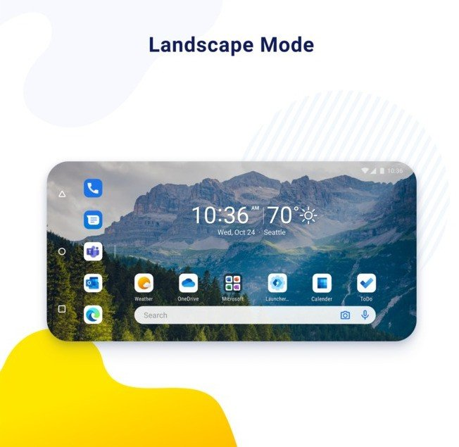 Microsoft Launcher Peview