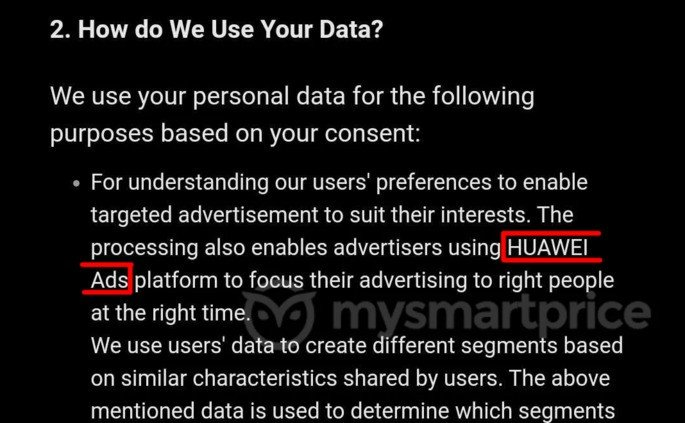Huawei publicidade