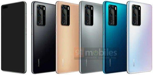 Huawei P40 Pro cores