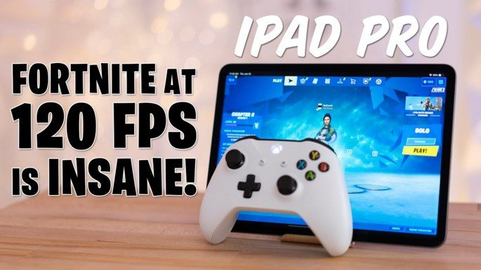 Fortnite iPad Pro