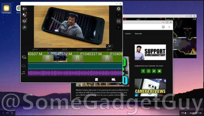 LG Desktop Mode