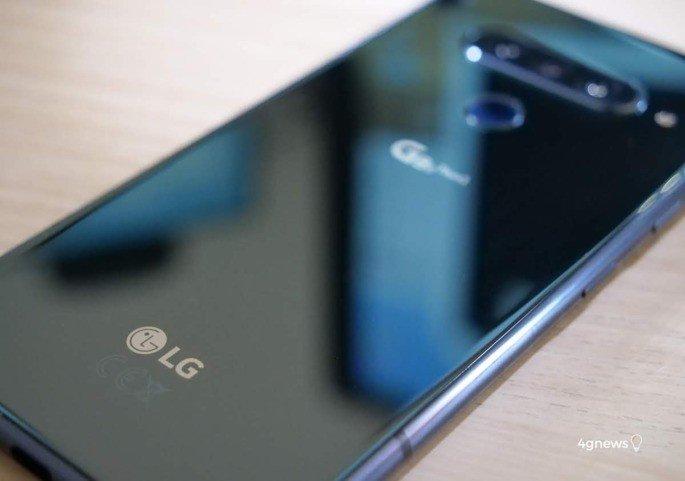 LG atualização Android 10