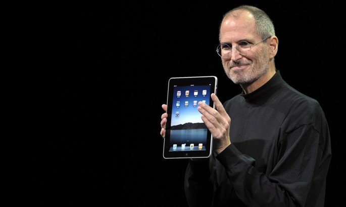 Steve Jobs iPad 10 anos