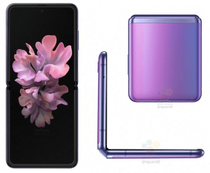Samsung Galaxy Z Flip concha