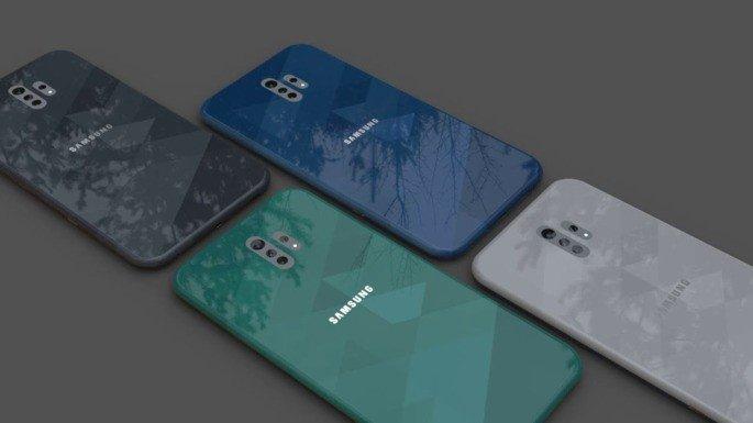Samsung Galaxy A41 concept