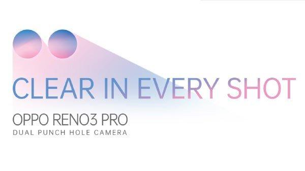Oppo Reno 3 Pro dupla câmara frontal