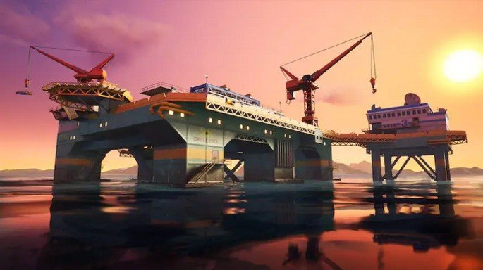 Fortnite Plataforma petrolífera