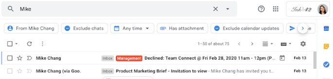 Filtros avançados gmail
