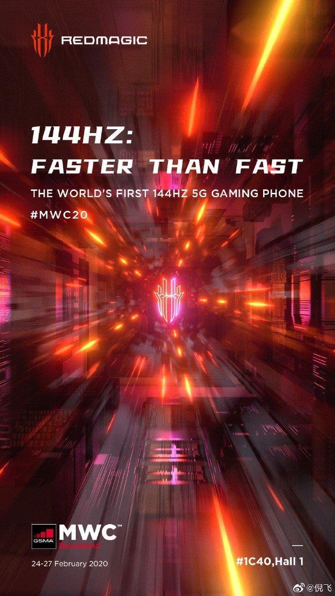 Nubia Red Magic 5G gaming