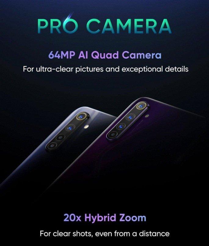 Realme 6 Pro câmaras